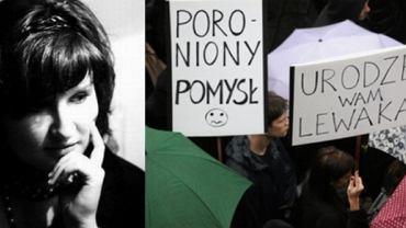 """Wg Anny Dryjańskiej, odrzucenie przez Sejm projektu """"Stop aborcji"""" nie powinno zakończyć protestu przeciwników zakazu aborcji"""