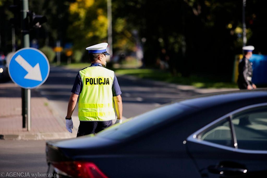 Napad z bronią w Parzymiechach. Policja zatrzymała uzbrojonego 29-latka