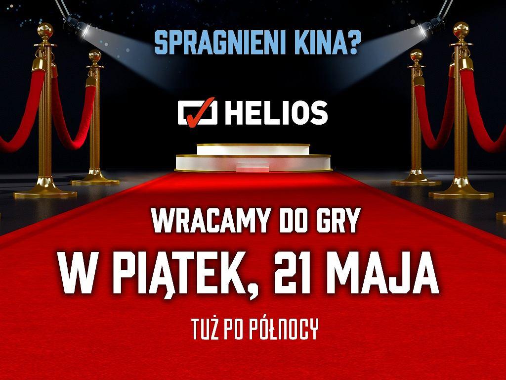 kina Helios wracają do gry