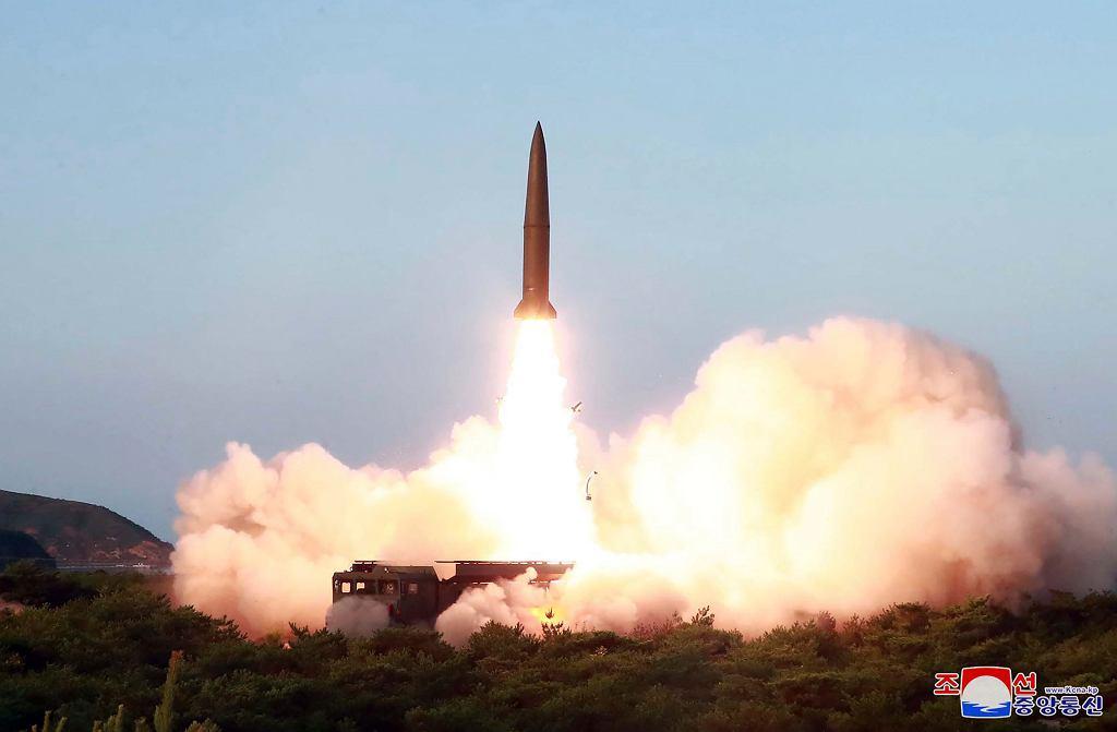 Korea Północna. Kim Dzong Un poprowadził testy rakiet krótkiego zasięgu