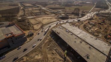 Trwają zaawansowane prace przy południowej obwodnicy Warszawy