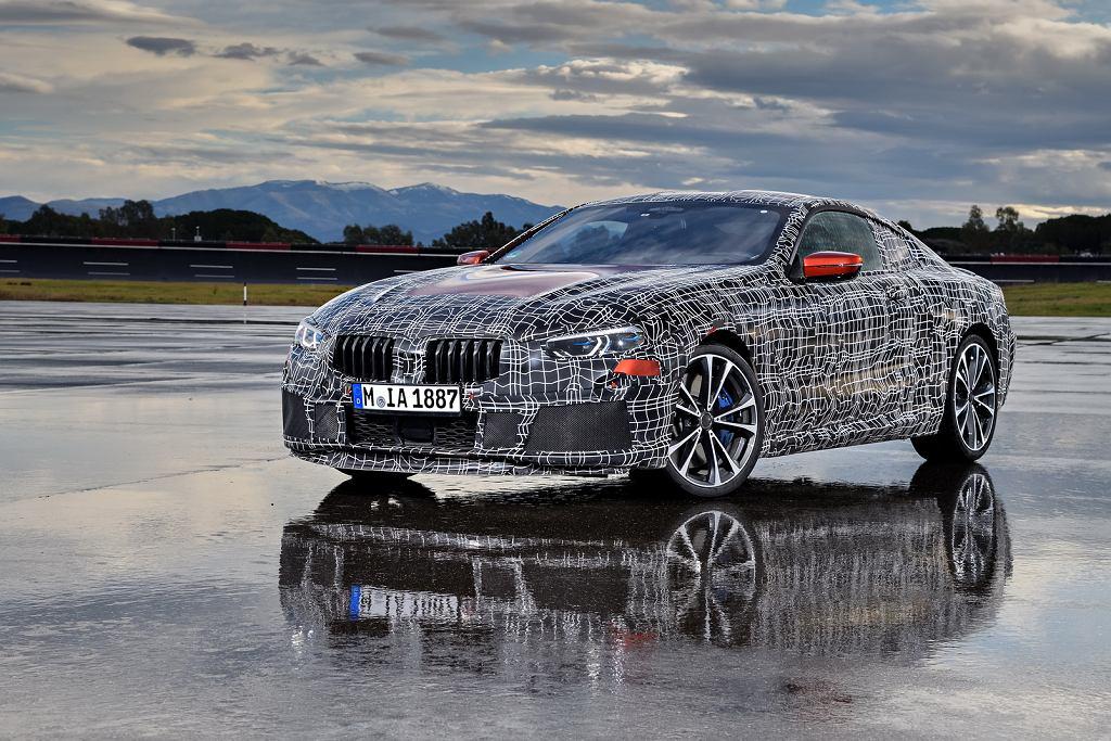 BMW serii 8 w kamuflażu