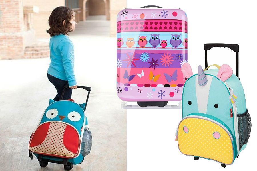 Kolorowe walizki dla dzieci