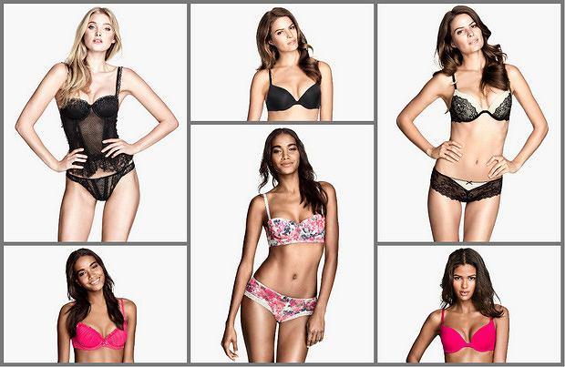 Bielizna H&M na wiosnę 2014 - lookbook