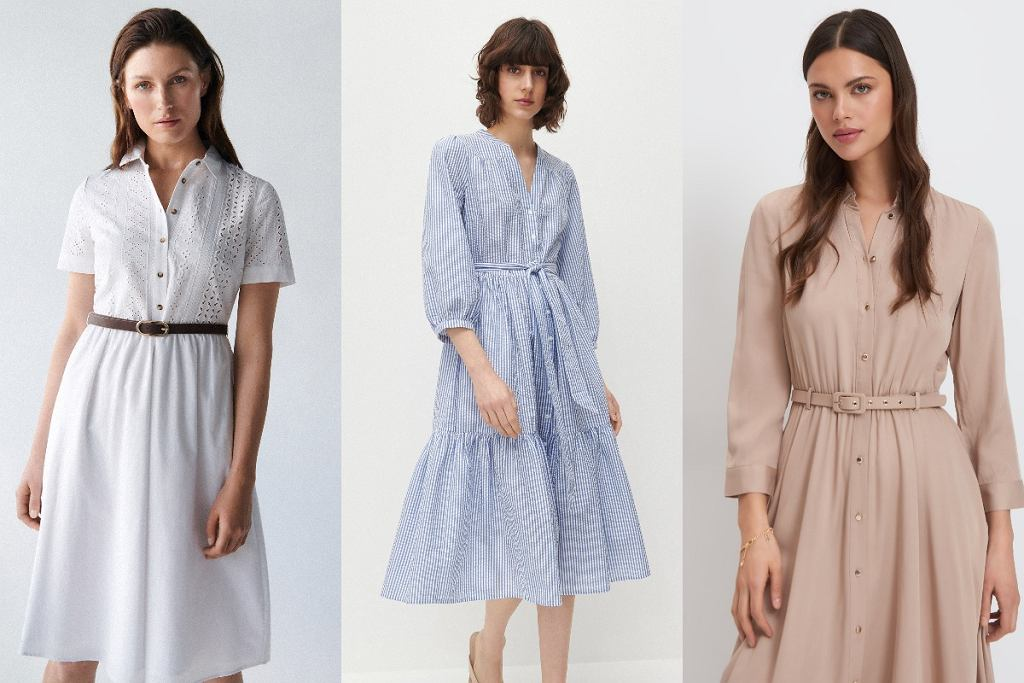 sukienki szmizjerki na lato