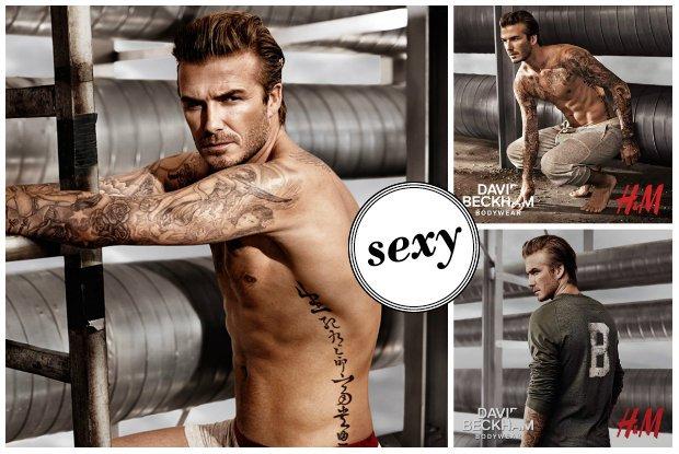 David Beckham dla H&M 2014
