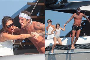 Victoria i David Beckham na wakacjach