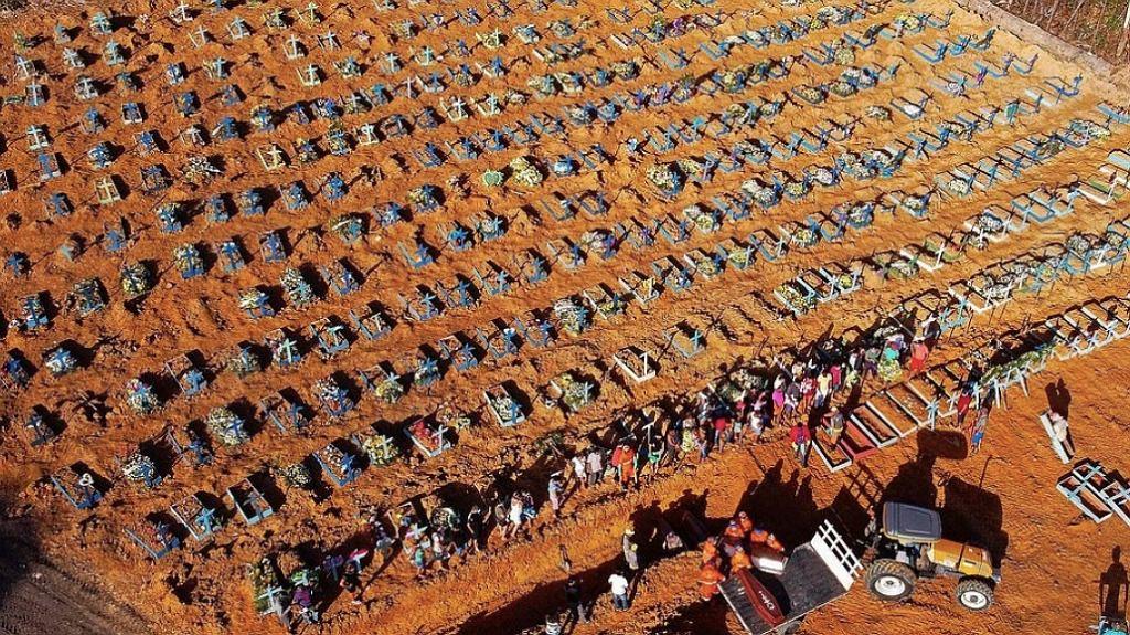 Brazylia, cmentarz w Manaus