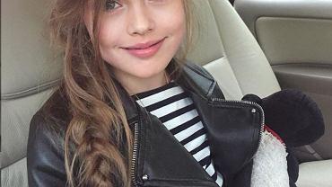 Kristina Pimenova to najpiękniejsza dziewczynka na świecie. Jest najmłodszą supermodelką