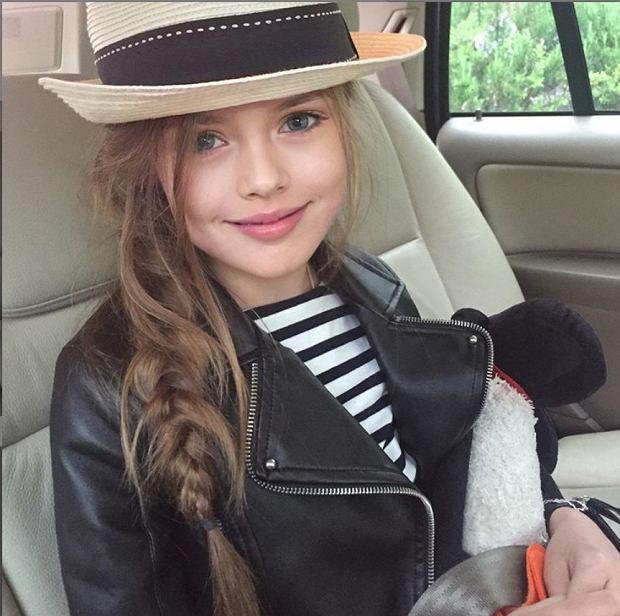Kristina Pimenowa okrzyknięta najpiękniejszą dziewczynką na świecie. Wkrótce kończy 14 lat