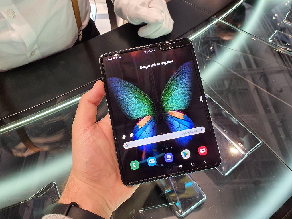 Samsung Galaxy Fold jeszcze we wrześniu