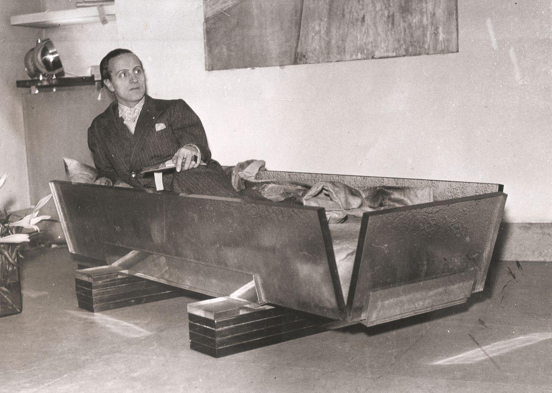Cierplikowski w szklanym łóżku (mat. prasowe)