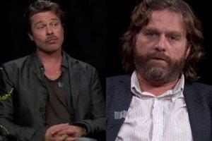 Brad Pitt i Zach Galifianakis