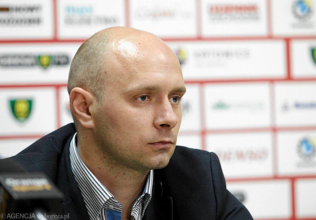Trener Artur Skowronek