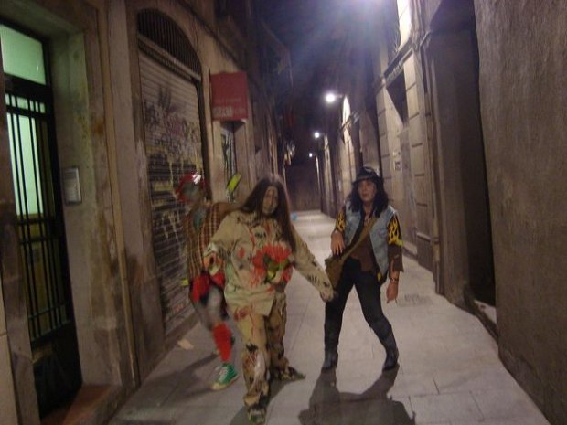 Zombie w Barcelonie/ Fot. CC BY NC 2.0/ Magda/ Flickr.com