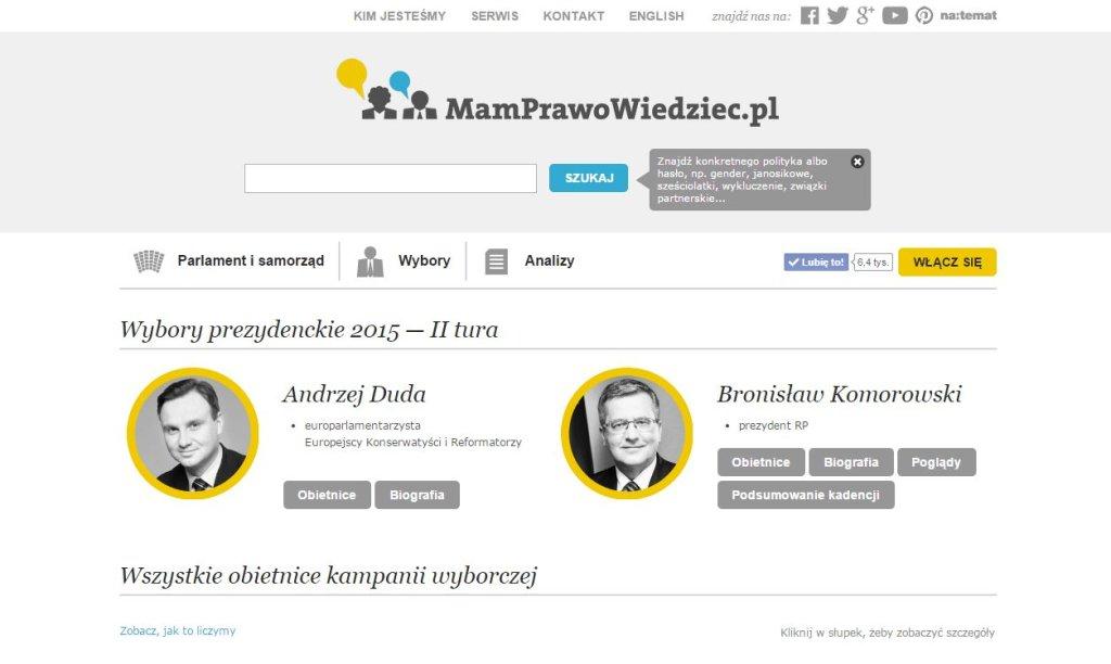 Strona MamPrawoWiedziec.pl