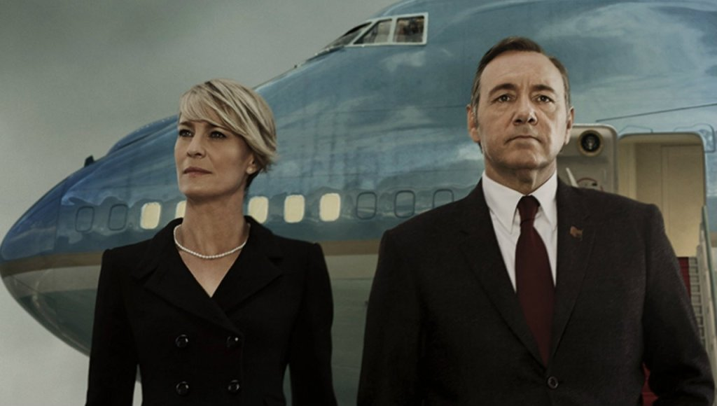 Claire (Robin Wright) i Frank (Kevin Spacey) (fot. Netflix / materiały prasowe)