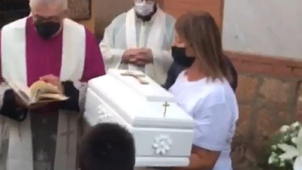 Pogrzeb Lucii Mantione