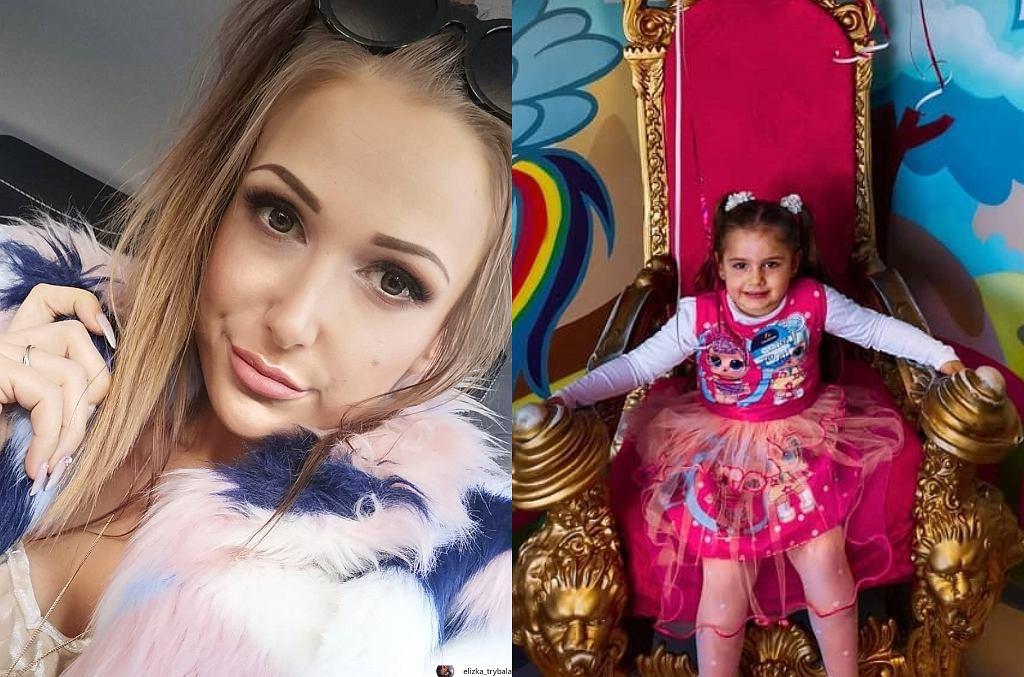 Eliza urządziła urodziny córce