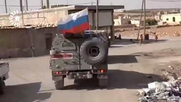 Nagrania kurdyjskiej telewizji mające pokazywać rosyjskie siły w północnej Syrii
