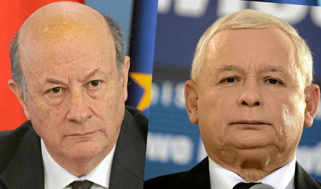 Jacek Rostowski, Jarosław Kaczyński