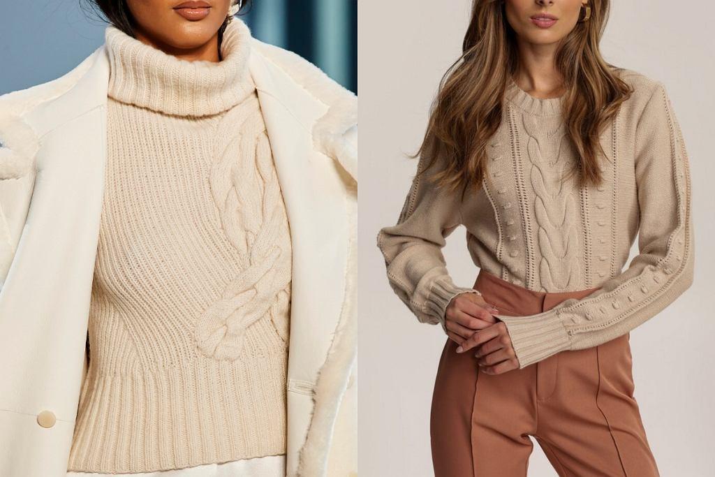 Ciepłe swetry na jesień