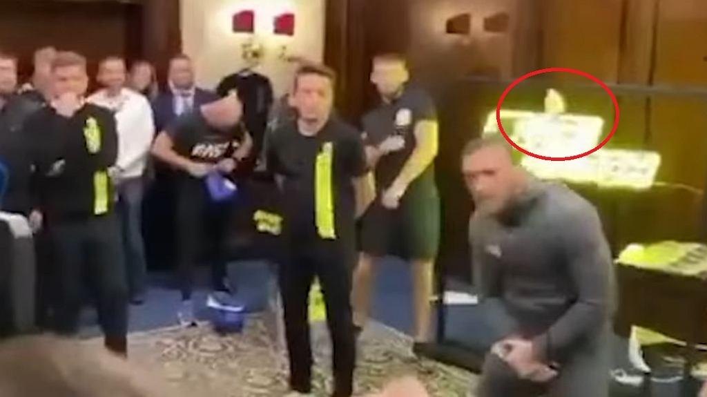 McGegor zaatakowany przez kibica