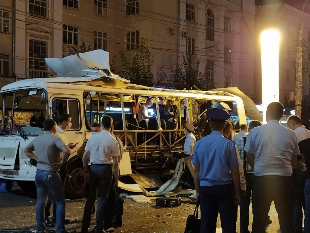 Russia Bus Explosion