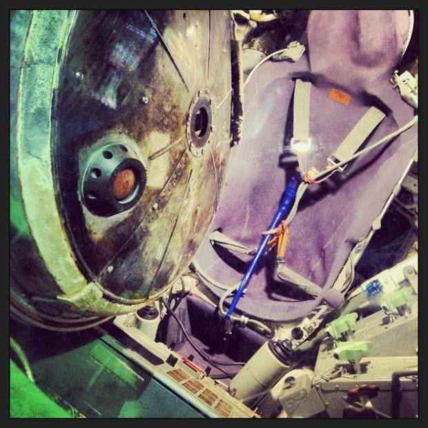Ciasno, ale przytulnie. Sojuz 30