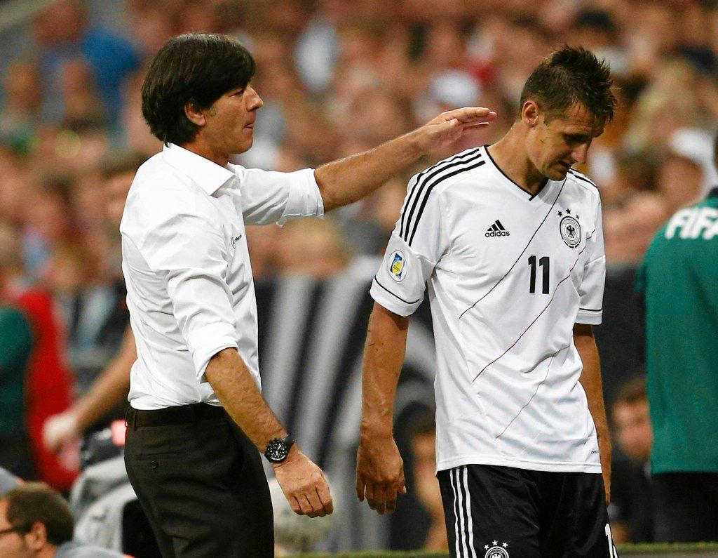 Joachim Loew i Miroslav Klose