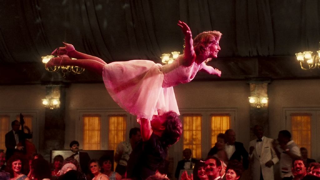 Scena finałowa z Dirty Dancing