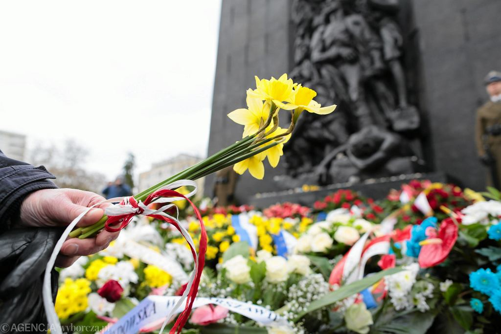 74. rocznica powstania w warszawskim getcie