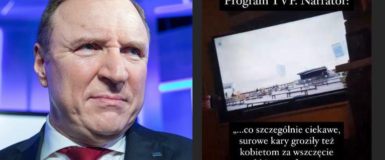 """Wstrząsający materiał w TVP. Lektor dywaguje nad wprowadzeniem """"marszu hańby"""" dla kobiet"""