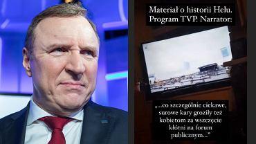 Jacek Kurski, TVP, Julia Oleś