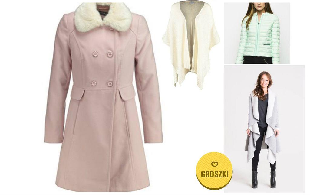 Płaszcze i kurtki w pastelowych kolorach