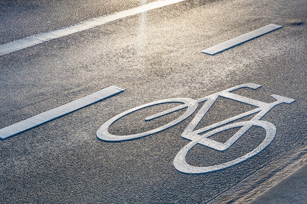 pas dla rowerów