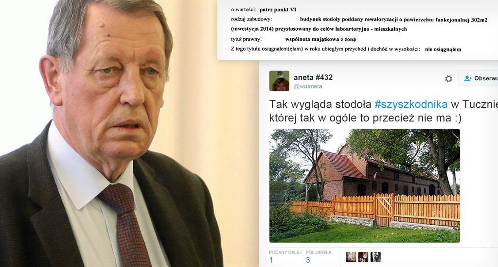 Minister środowiska Jan Szyszko i jego oświadczenie majątkowe