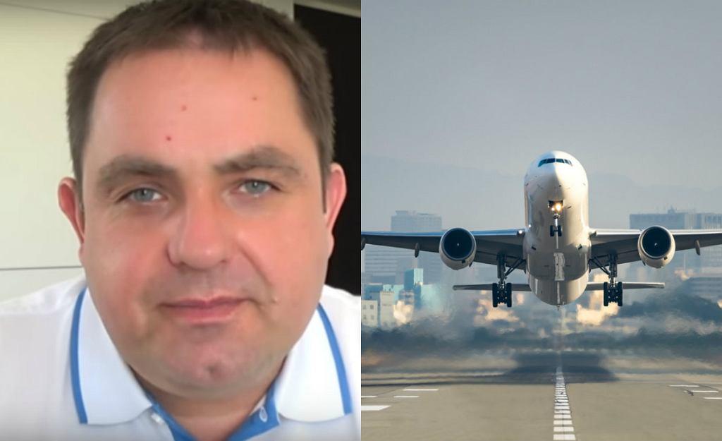 Polski pilot udziela porad dotyczących pokonywania lęku przed lataniem