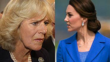 Księżna Camilla, księżna Kate