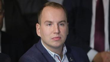 Adam Andruszkiewicz, wiceminister cyfryzacji, a zrazem podlaski poseł PiS