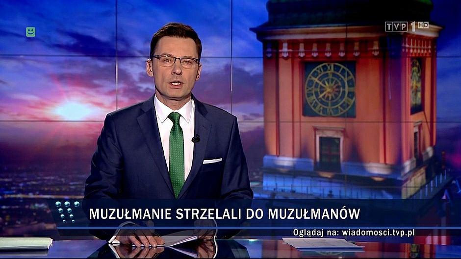 Według 'Wiadomości' zamachu na meczet dokonali muzułmanie