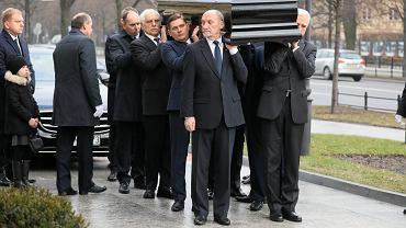 Uroczystości żałobne w Warszawie po śmierci premiera Jana Olszewskiego