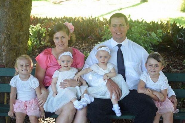 Rodzina Bradfordów z Queensland