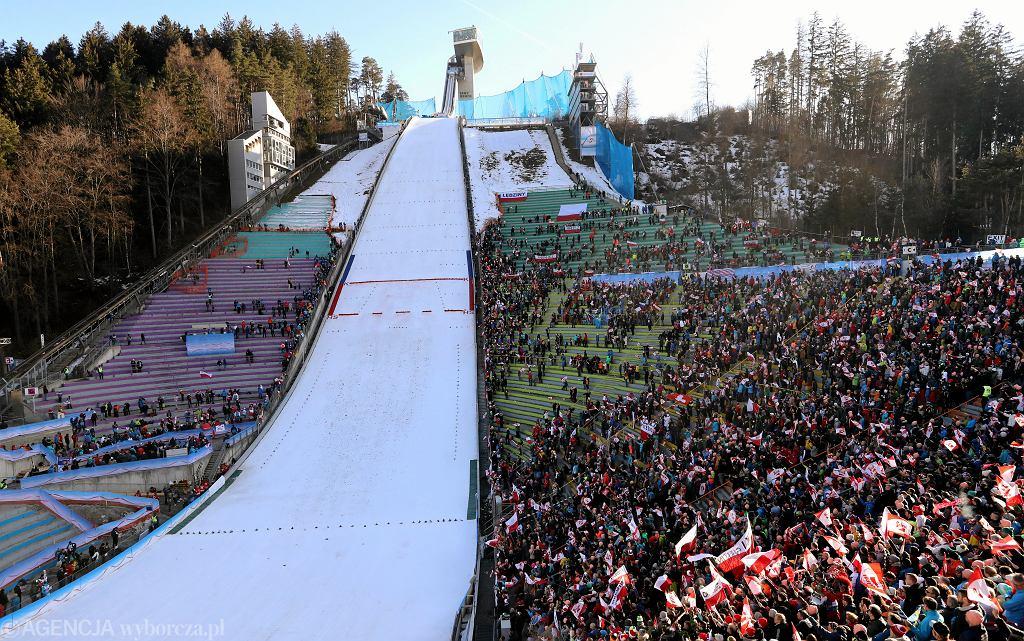 23.02.2019, Innsbruck, skocznia Bergisel podczas indywidualnego konkursu w skokach w ramach Mistrzostw Świata.