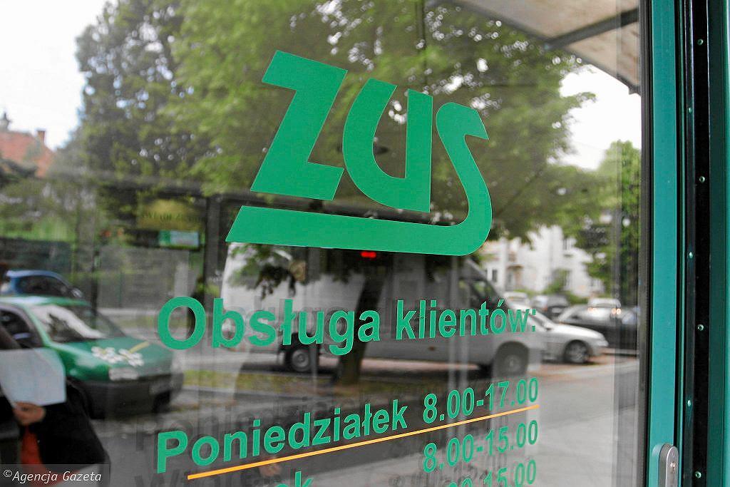 ZUS (zdjęcie ilustracyjne)