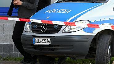 Niemiecka policja / zdjęcie ilustracyjne