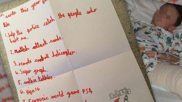 List 7-latka do Św. Mikołaja