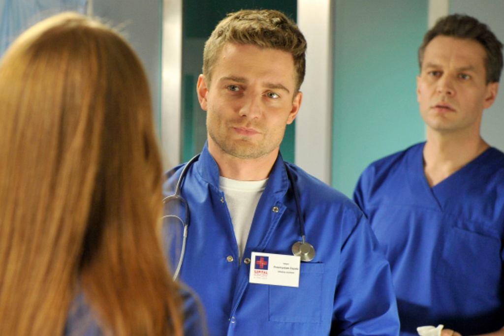 Kadr z serialu 'Na dobre i na złe'