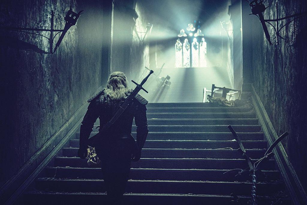 Kadr z serialu 'Wiedźmin'