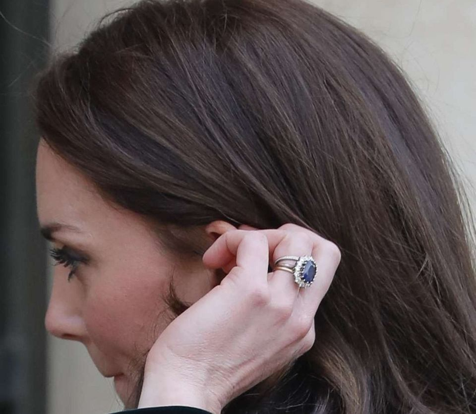 Pierścionek zaręczynowy Kate Middleton (księżna Kate)